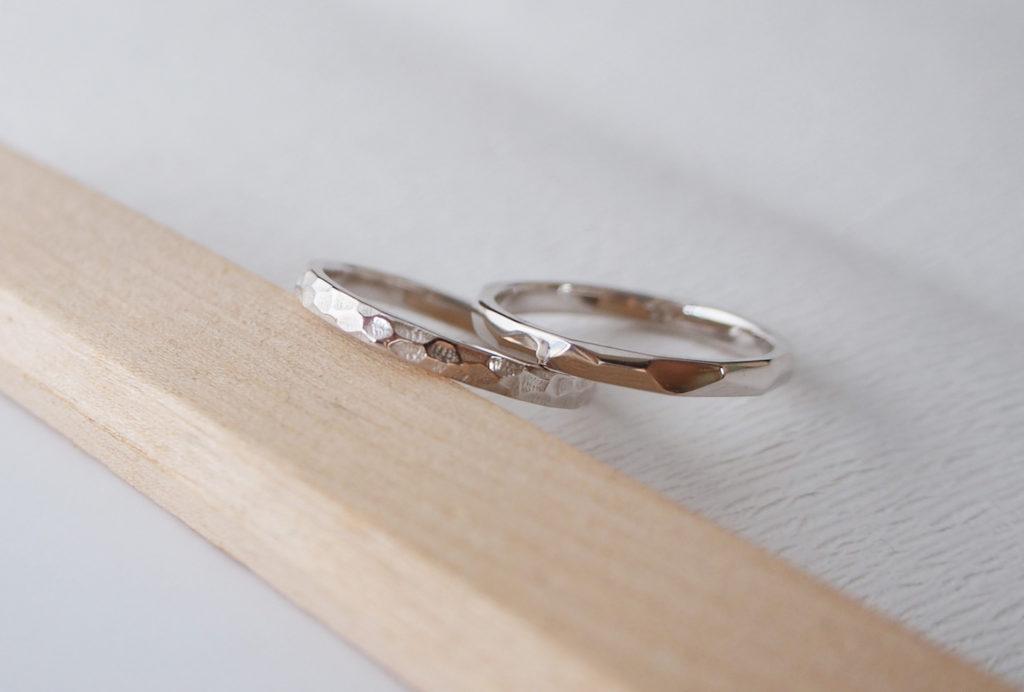 ワックスから制作する結婚指輪の価格例
