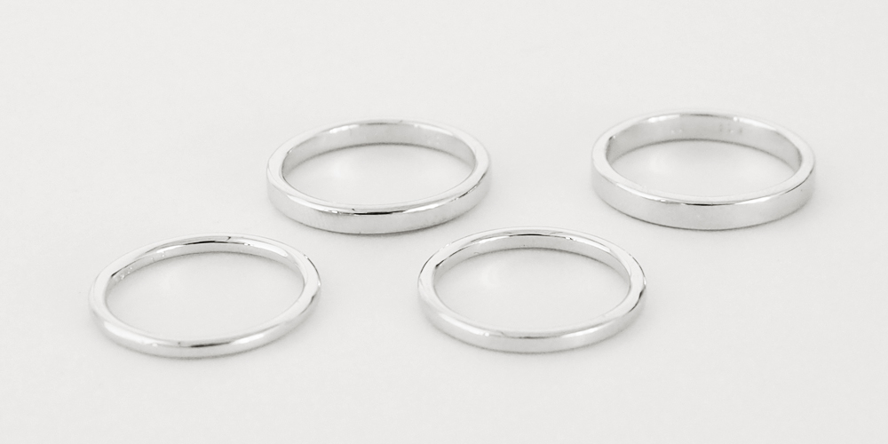 結婚指輪の形ovalのサンプル