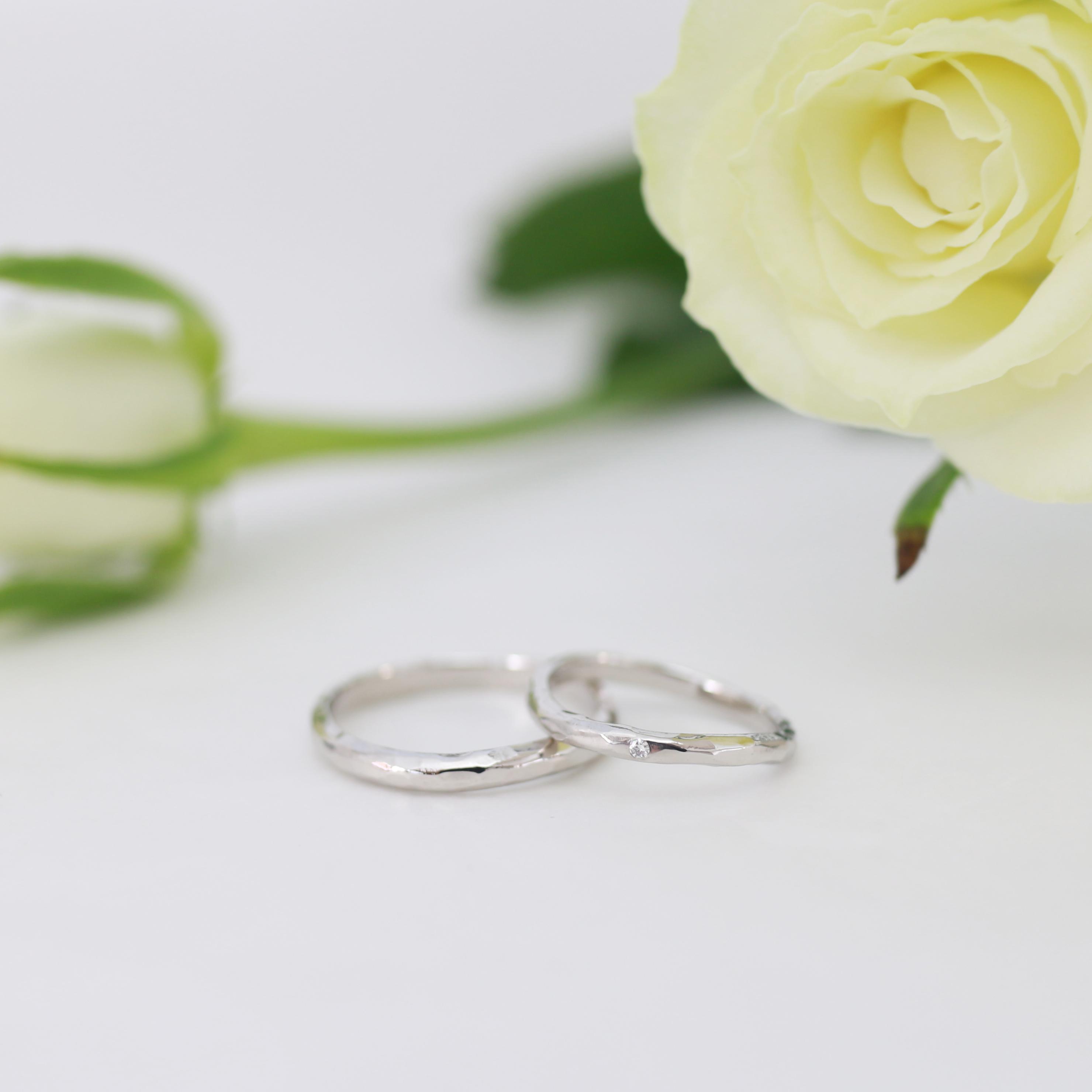 鎚目結婚指輪