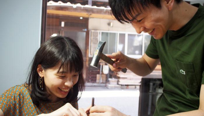 ふたりで手作りする結婚指輪metalwork