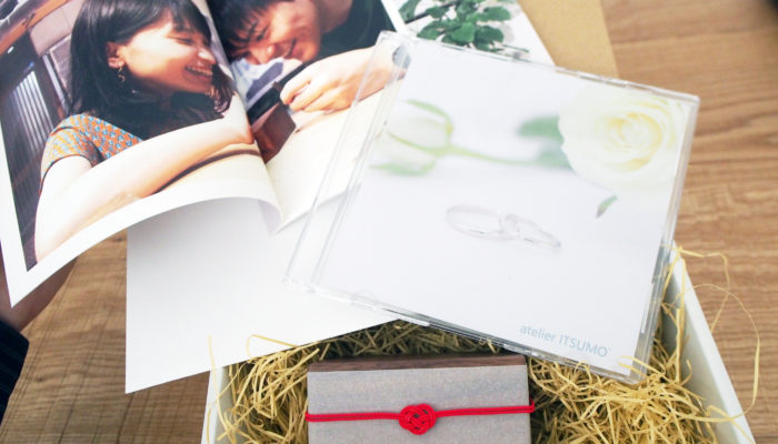結婚指輪制作風景のフォトブックとCD
