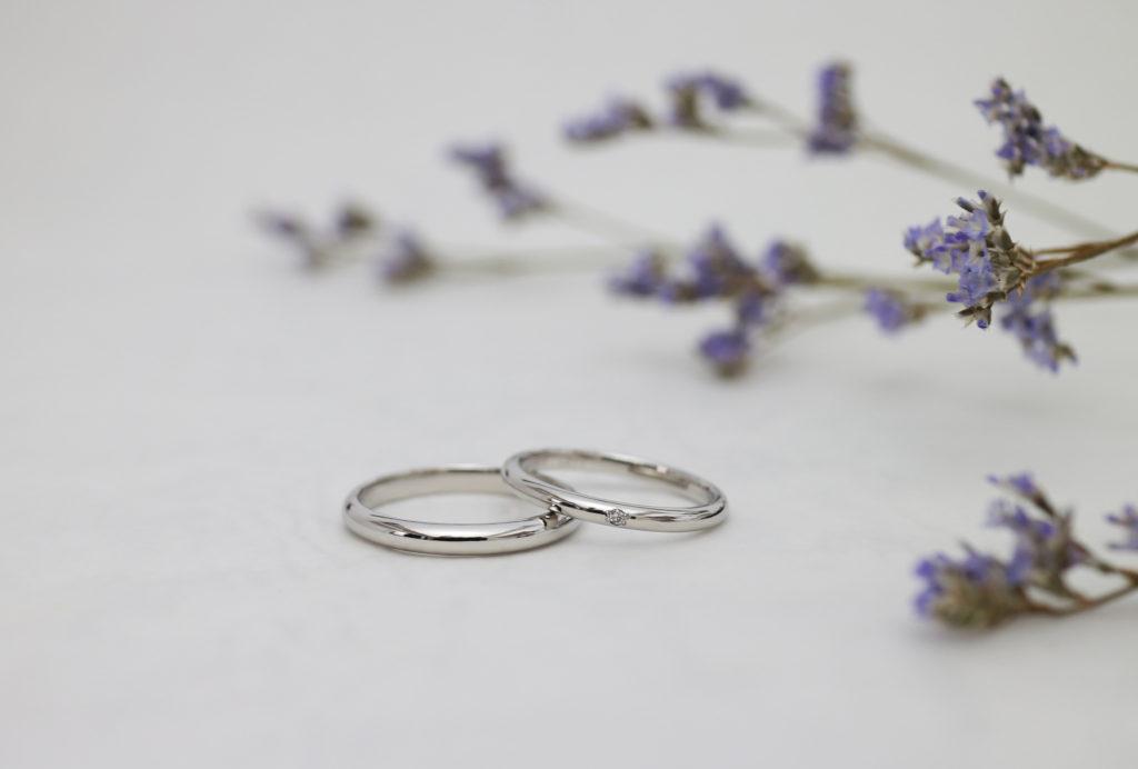 プラチナのふたりで手作りする結婚指輪