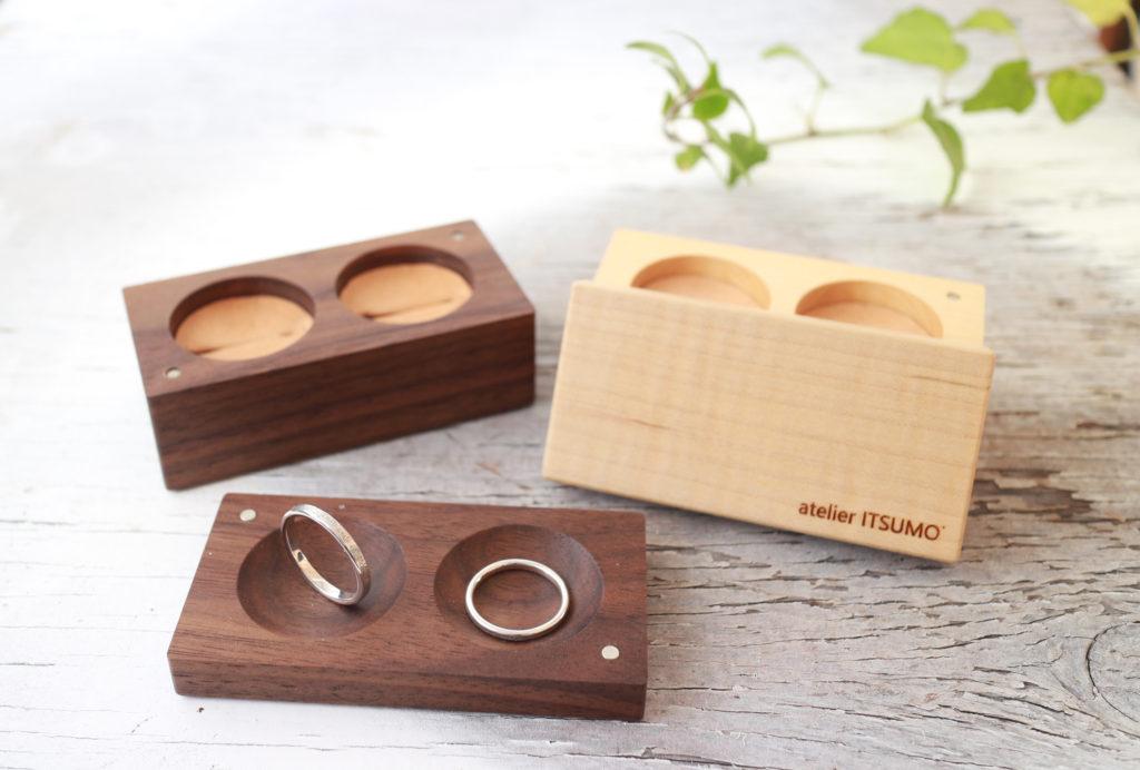 結婚指輪のオリジナルリングケース