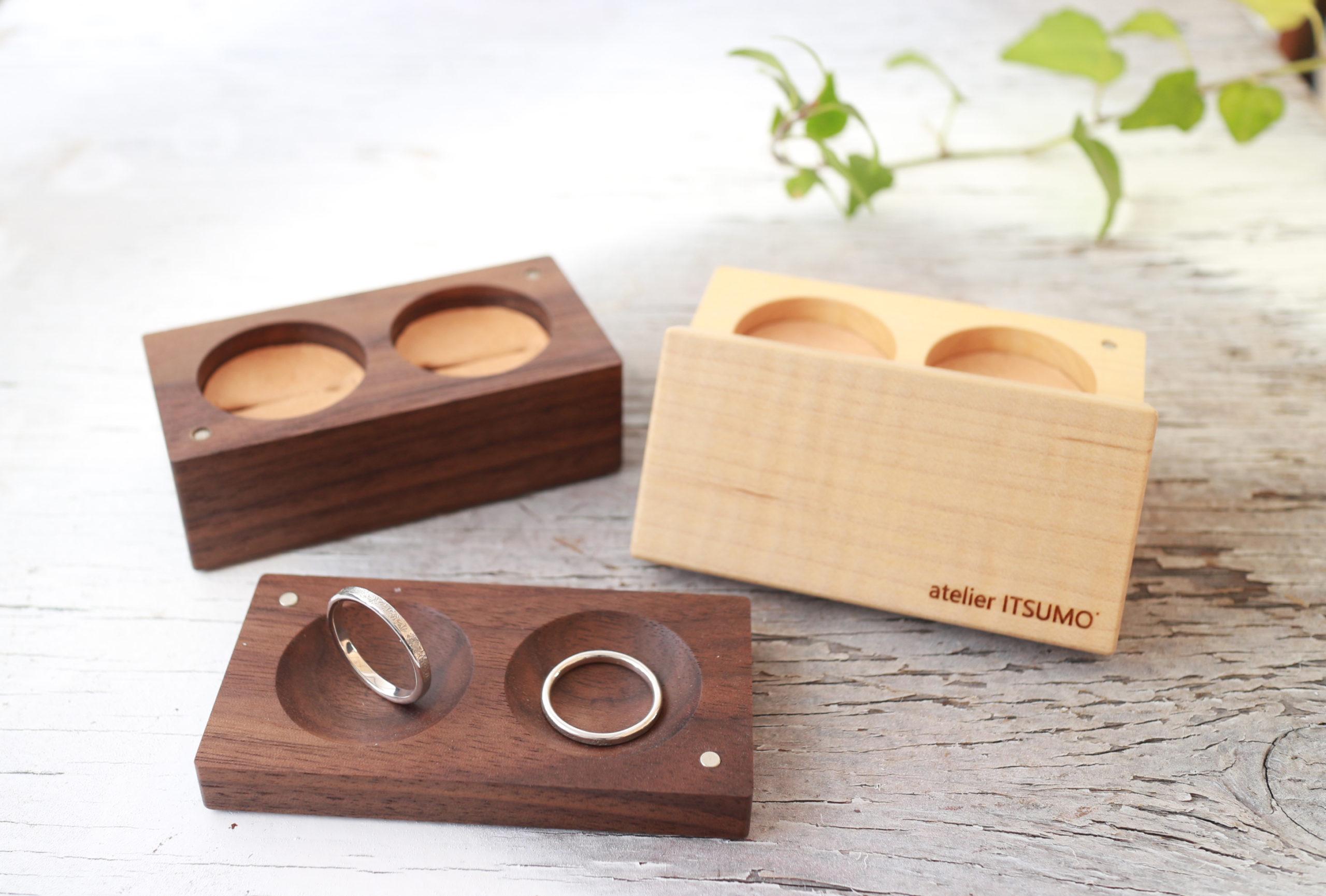 結婚指輪のリングケース