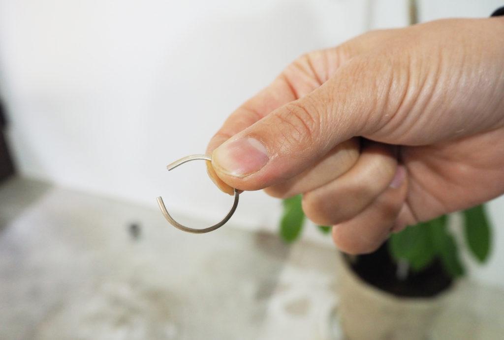 結婚指輪を作る工程