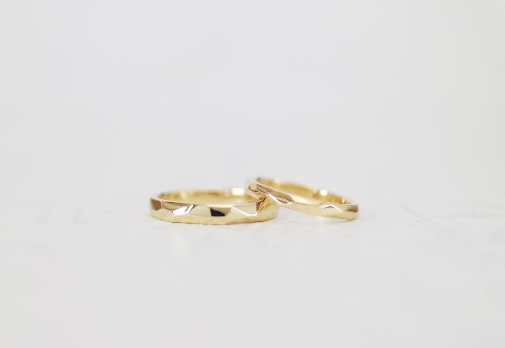 ふたりでワックスから手作りした結婚指輪