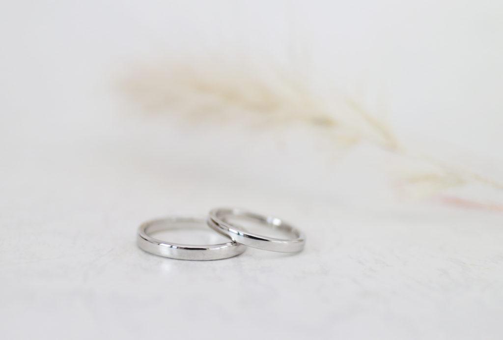 赤ちゃんと一緒に手作りした結婚指輪