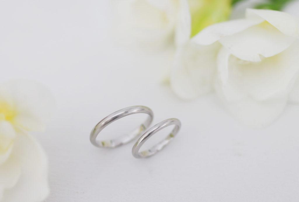 お店には売っていない手作り結婚指輪