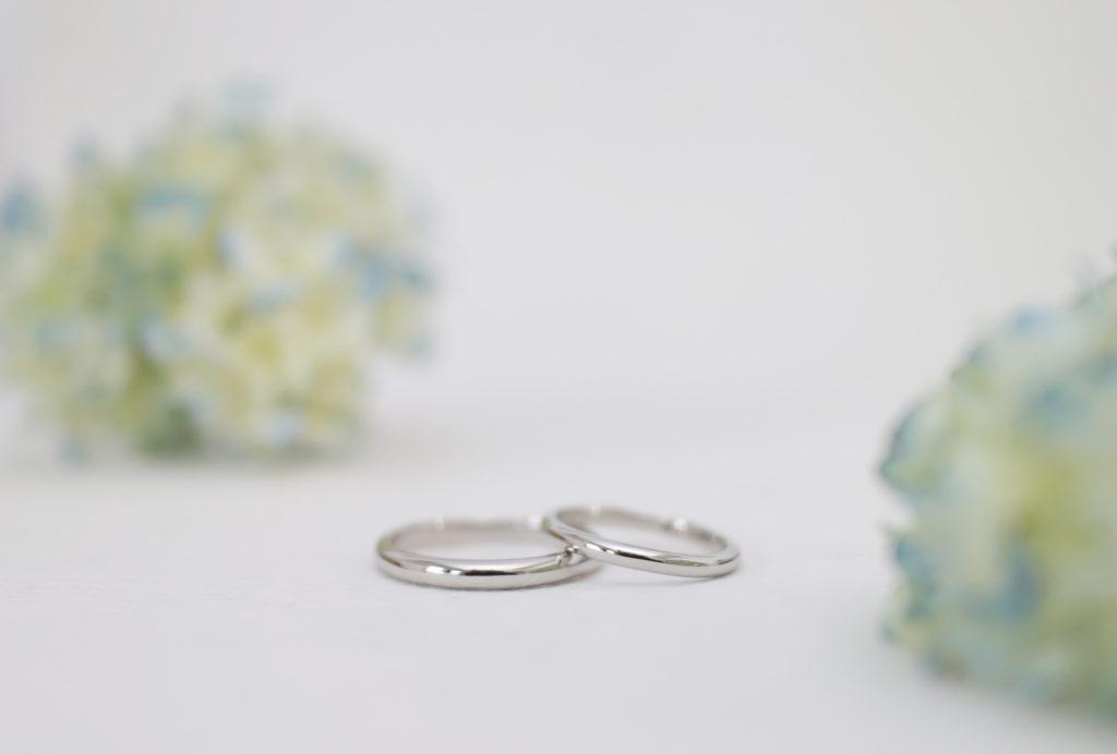 あえて整えすぎない手作り結婚指輪