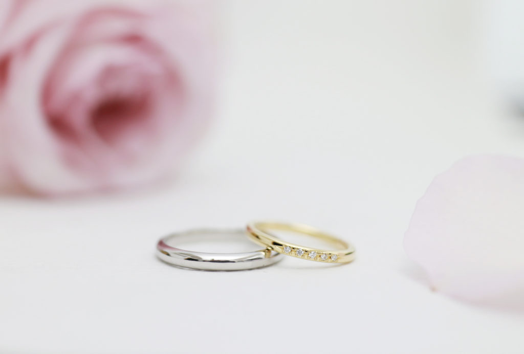 時間を忘れて磨いた結婚指輪
