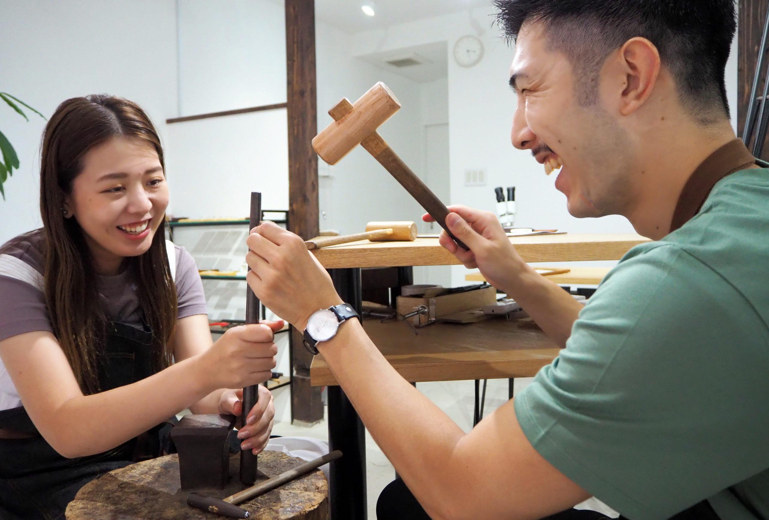 自分たちで結婚指輪を作れるか不安でも任せてください!